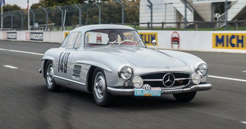 RM NYC 2015 - 1955 Mercedes-Benz 300SL Sportabteilung Gullwing 12