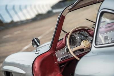 RM NYC 2015 - 1955 Mercedes-Benz 300SL Sportabteilung Gullwing 15