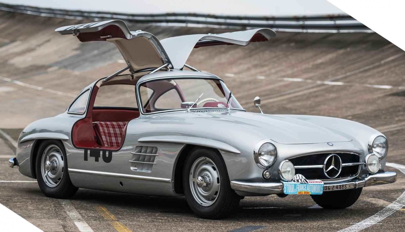 1955 mercedes benz 300sl sportabteilung gullwing for Mercedes benz gullwing 1955