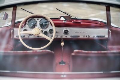 RM NYC 2015 - 1955 Mercedes-Benz 300SL Sportabteilung Gullwing 4