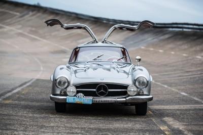 RM NYC 2015 - 1955 Mercedes-Benz 300SL Sportabteilung Gullwing 7