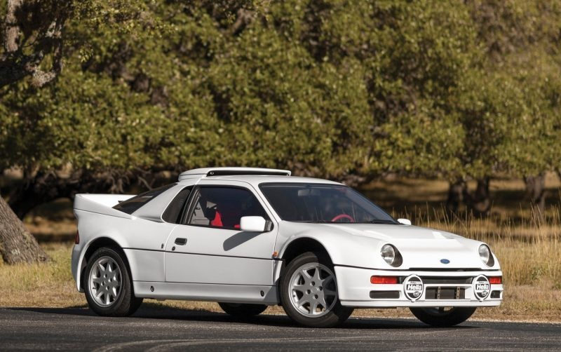 RM NYC 2015 - 1986 Ford RS200 - Final Road-Legal Group B Rally Star 1