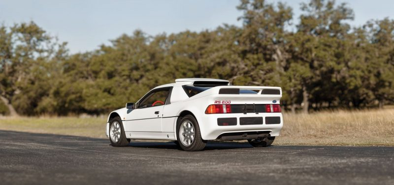 RM NYC 2015 - 1986 Ford RS200 - Final Road-Legal Group B Rally Star 2