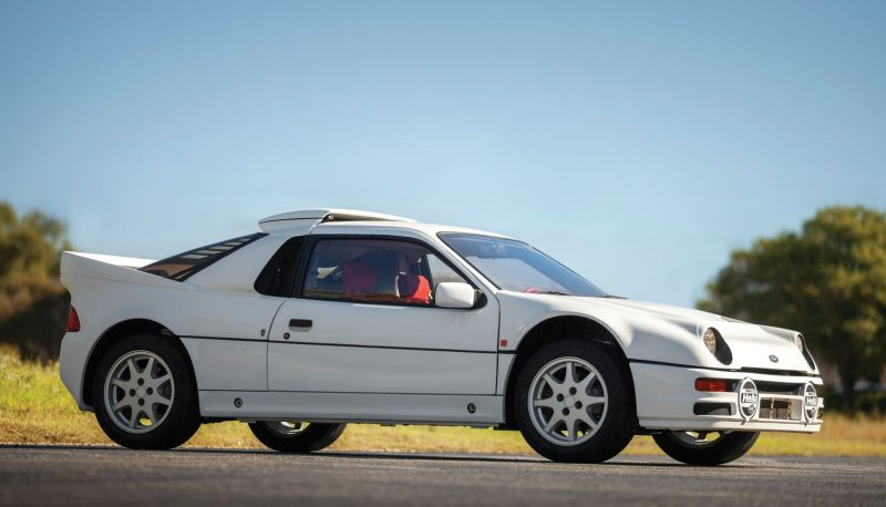 RM NYC 2015 - 1986 Ford RS200 - Final Road-Legal Group B Rally Star 20