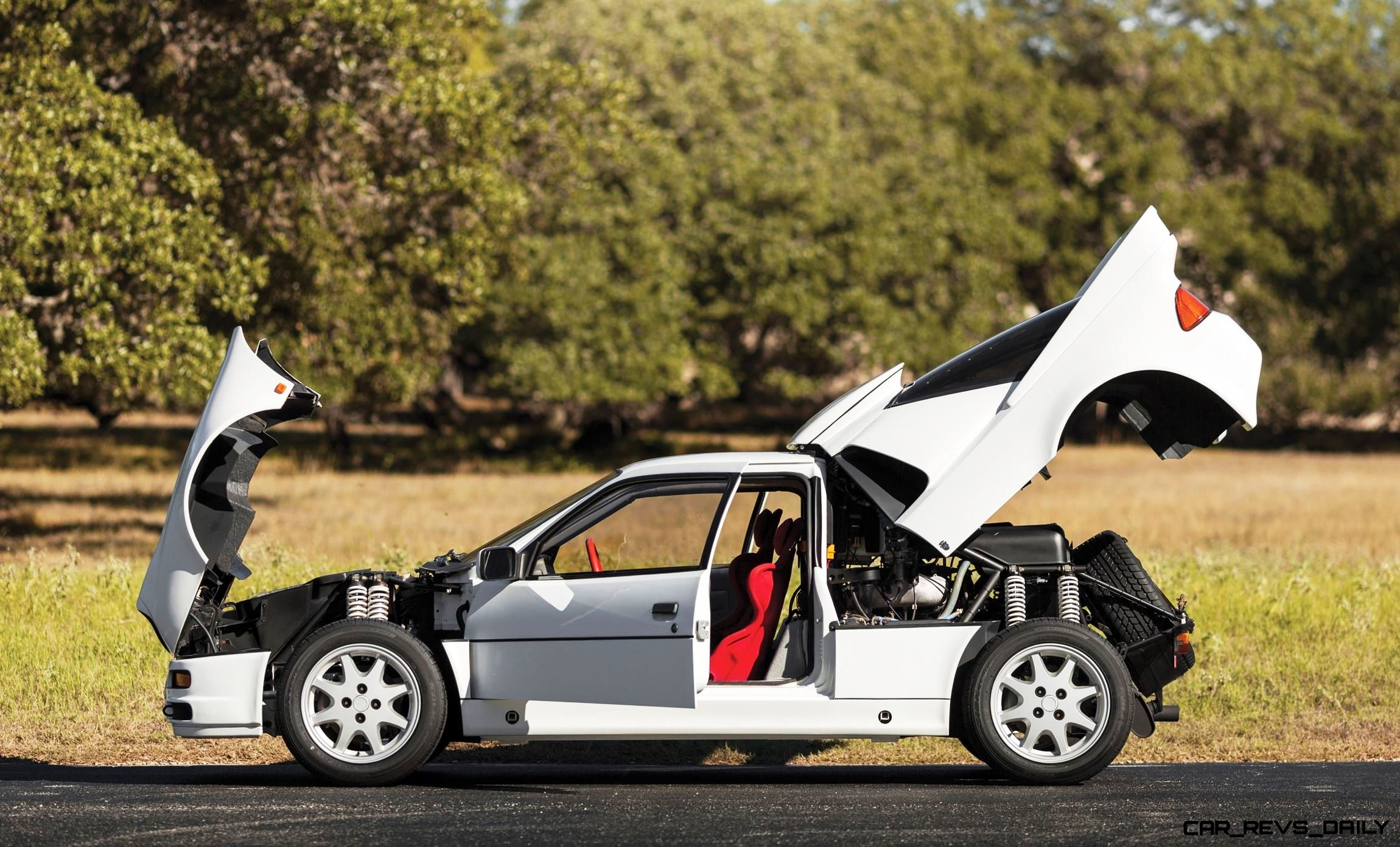 Group B Debrief 1986 Ford Rs200 Road Legal Rally Legend Up For Sale Car Revs Daily Com