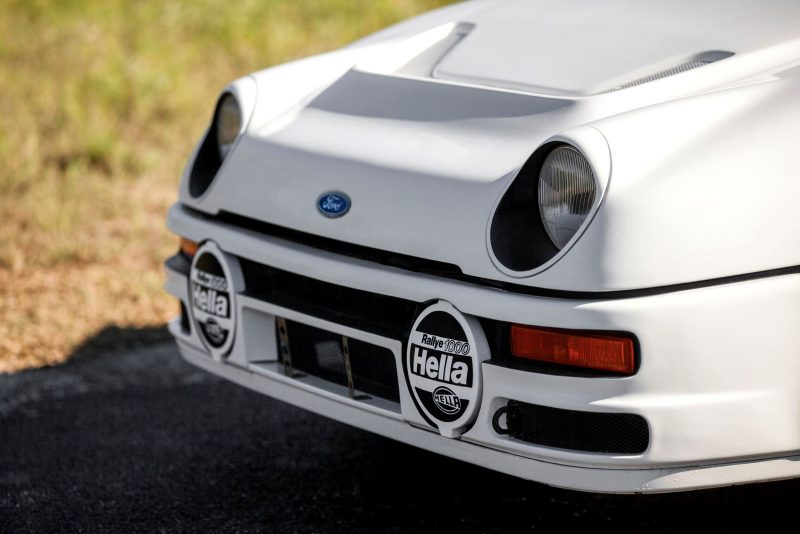 RM NYC 2015 - 1986 Ford RS200 - Final Road-Legal Group B Rally Star 23