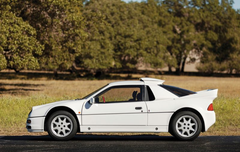 RM NYC 2015 - 1986 Ford RS200 - Final Road-Legal Group B Rally Star 5