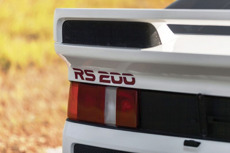 RM NYC 2015 - 1986 Ford RS200 - Final Road-Legal Group B Rally Star 6