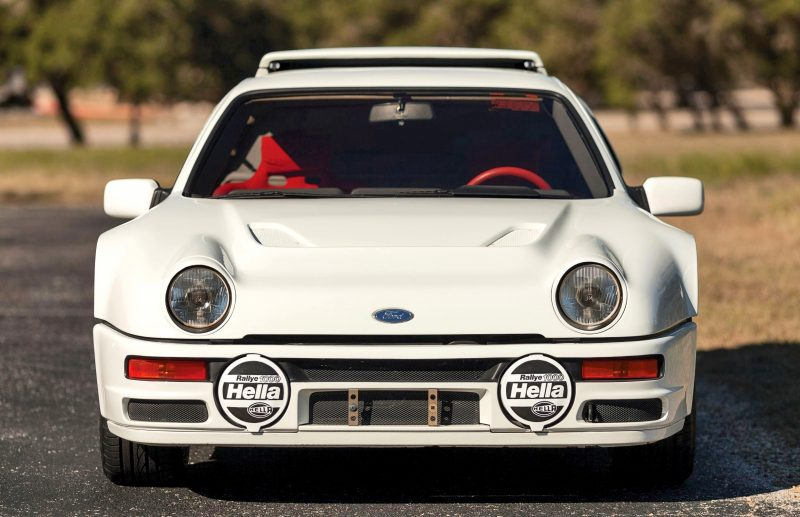 RM NYC 2015 - 1986 Ford RS200 - Final Road-Legal Group B Rally Star 8