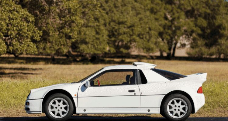 RM NYC 2015 - 1986 Ford RS200 - Final Road-Legal Group B Rally Star