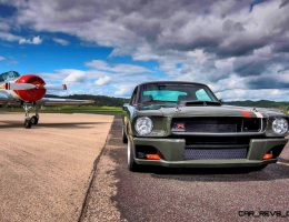 RingBrothers Carbon Fiber Mustang GT-R on HRE Wheels Hits Airbase for GORGEOUS Photoshoot