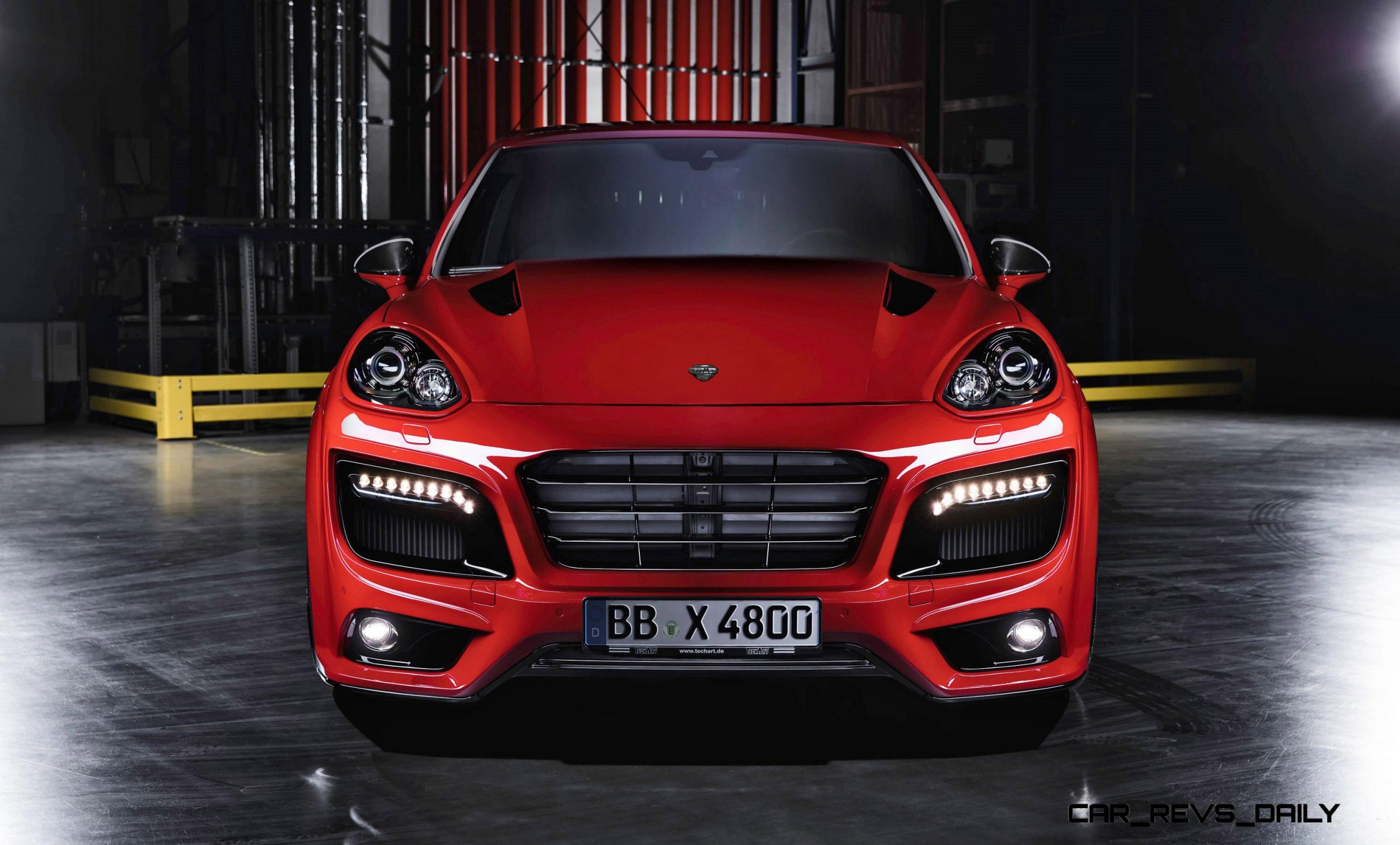 700hp techart magnum for porsche cayenne is new flagship. Black Bedroom Furniture Sets. Home Design Ideas