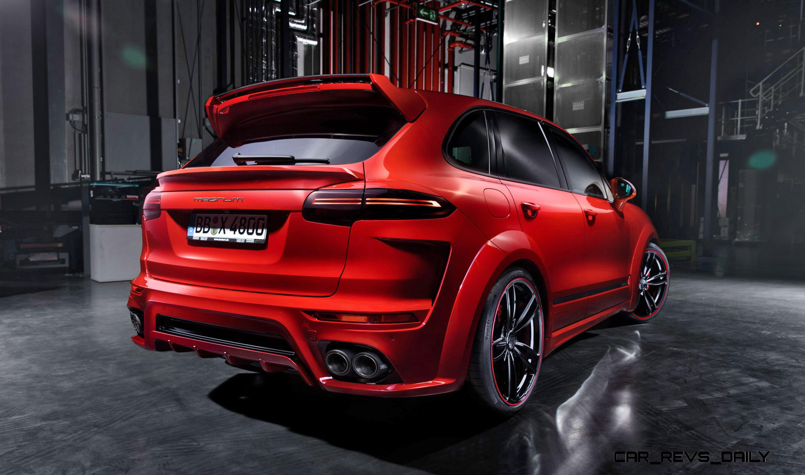 700hp Techart Magnum For Porsche Cayenne Is New 4 0s