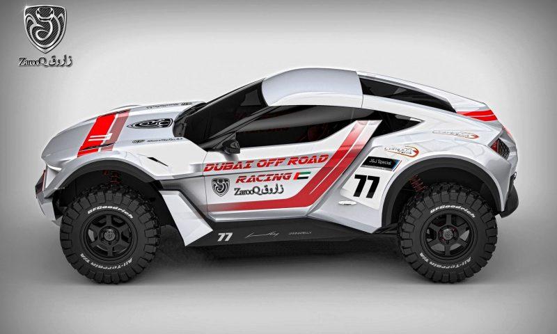 ZAROOQ MOTORS Sand Racer 12