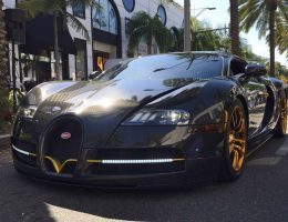 MANSORY Bugatti VEYRON Linea d'Oro and Vincero Are Iconic Customs