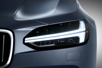 Thor's Hammer Headlight Volvo S90 Mussel Blue