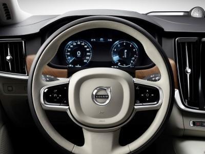 Interior Steering Wheel Volvo S90