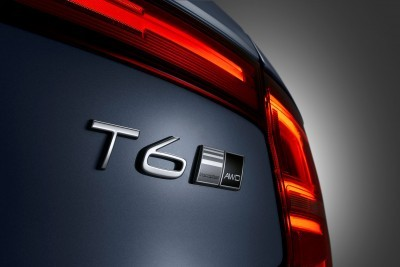 Detail T6 Badge Volvo S90 Mussel Blue