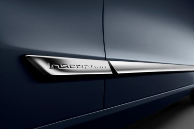 Detail Inscription Volvo S90 Mussel Blue