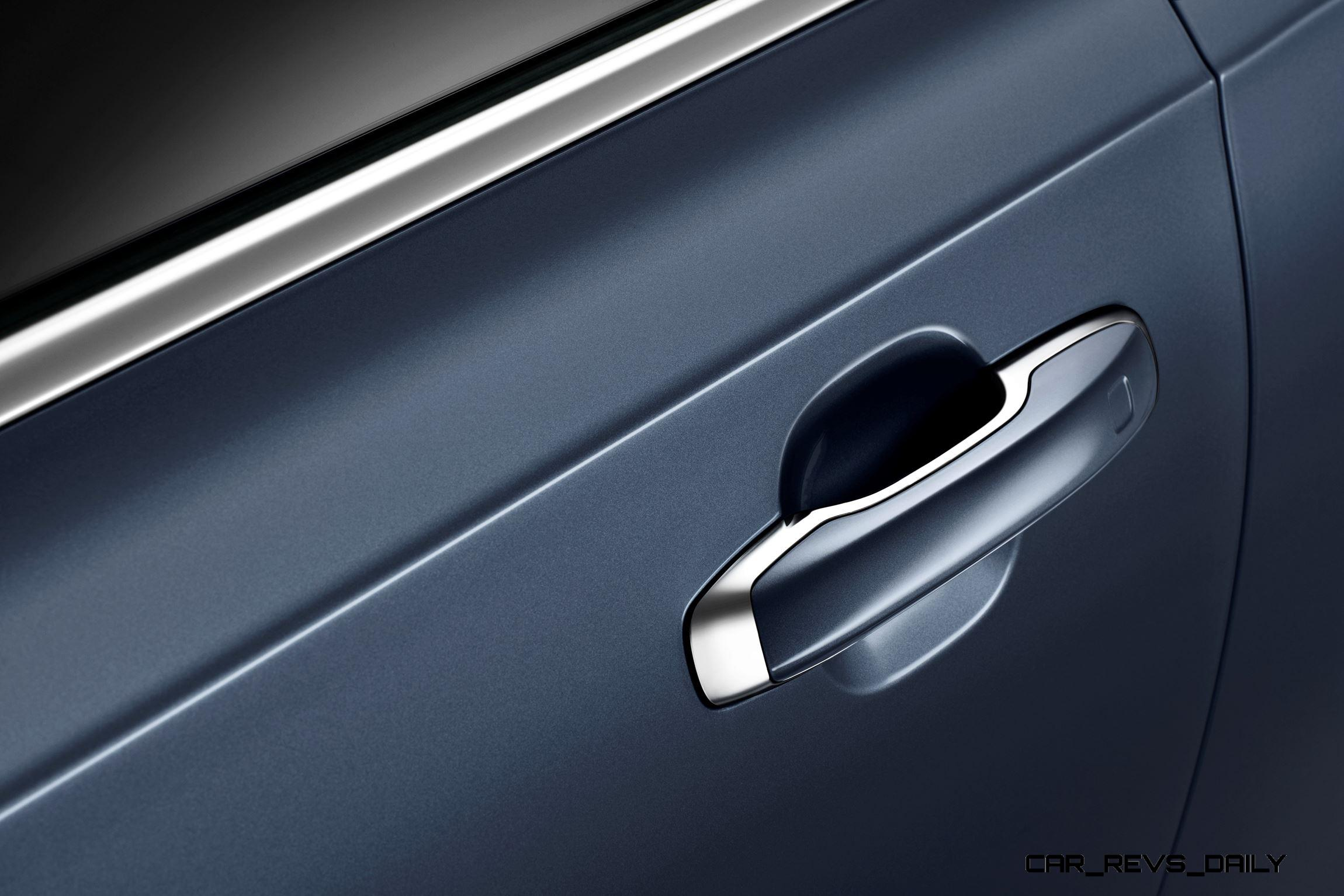 & Detail Door Handle Volvo S90 Mussel Blue Pezcame.Com