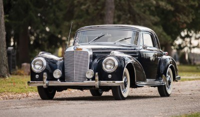 1955 Mercedes-Benz 300 Sc Coupe 32