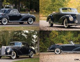 1955/56 Mercedes-Benz 300SC and 300S Roadster Set To Stun RM NYC 2015
