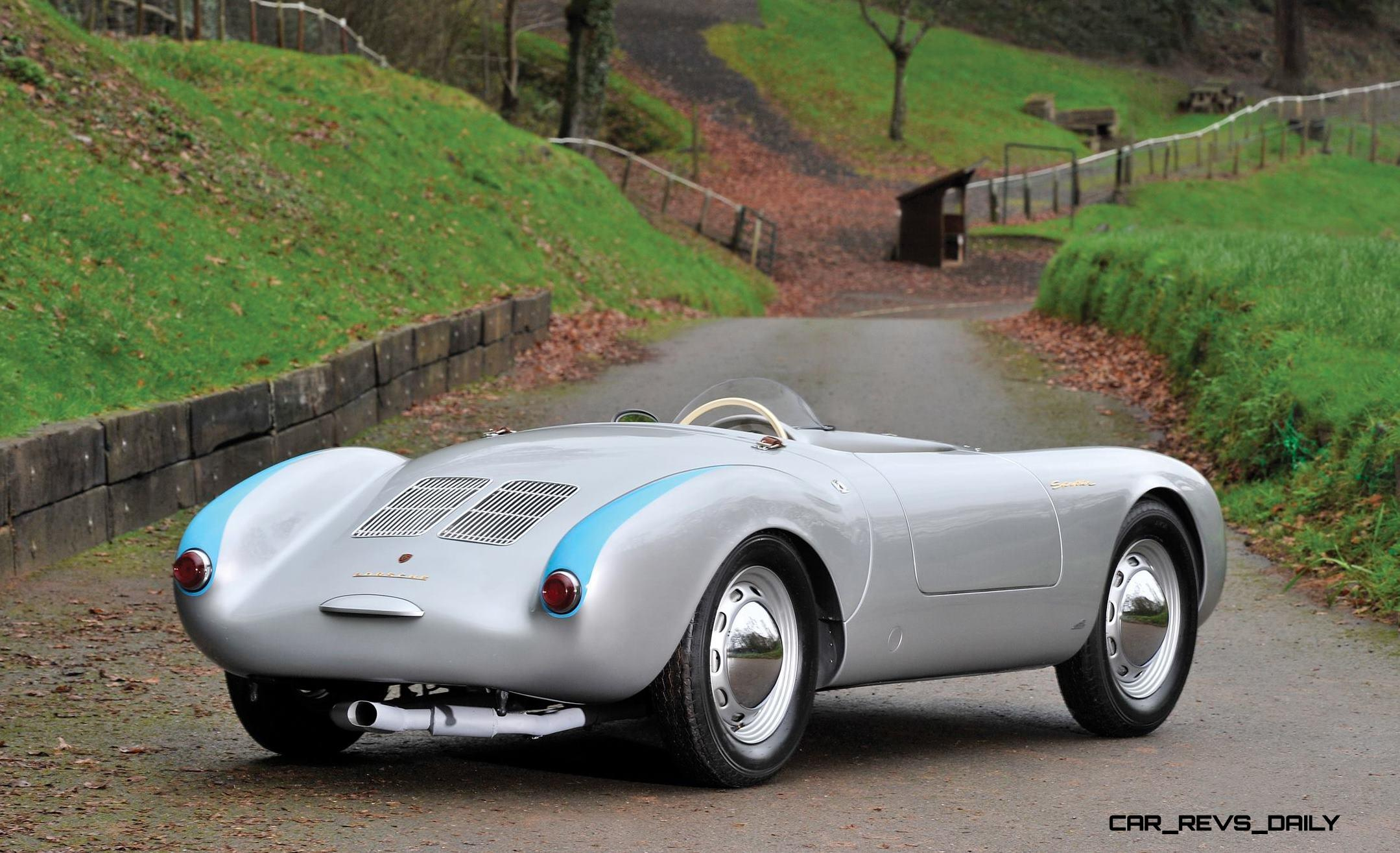 This 1955 Porsche 550 Spyder Is Worth 4k Per Pound