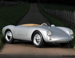 This 1955 Porsche 550 SPYDER Is Worth $4k per Pound