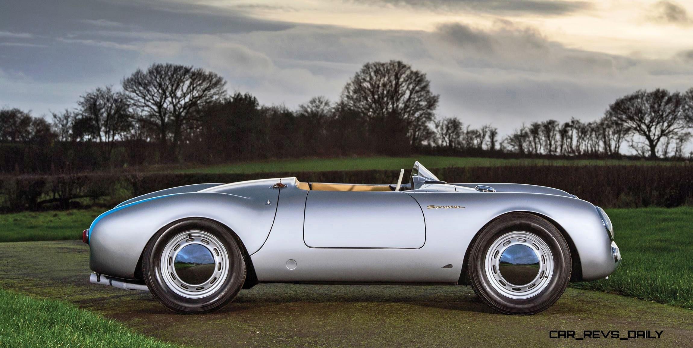 This 1955 Porsche 550 Spyder Is Worth 4k Per Pound