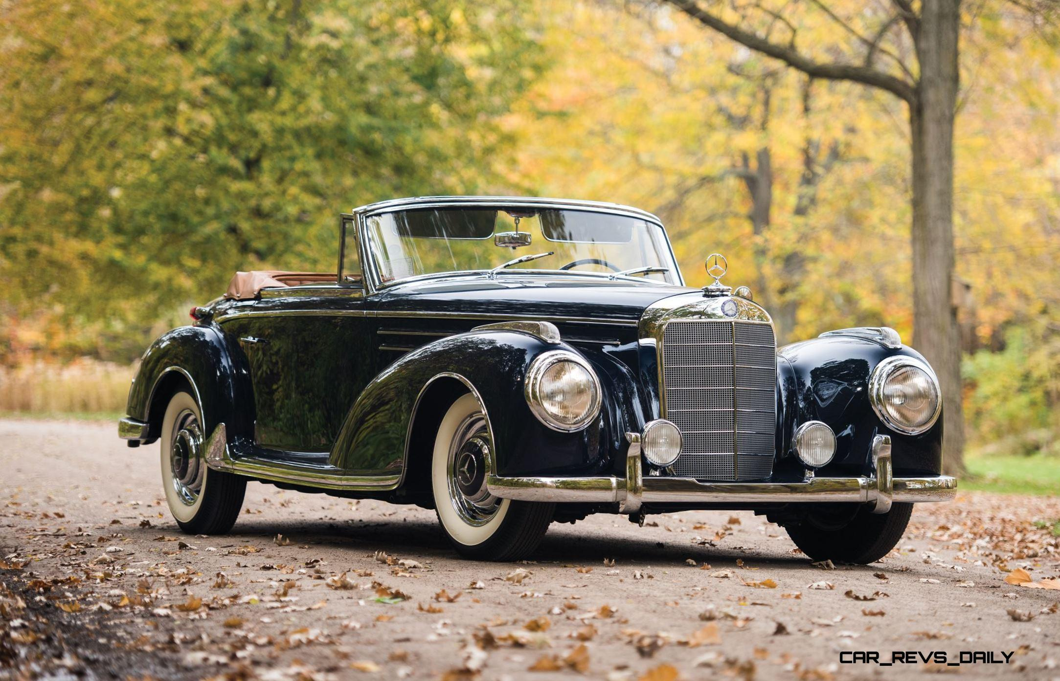 1955 56 mercedes benz 300sc and 300s roadster set to stun rm nyc 2015. Black Bedroom Furniture Sets. Home Design Ideas