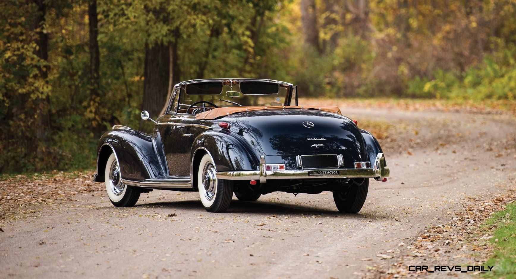 1955 56 Mercedes Benz 300sc And 300s Roadster Set To Stun