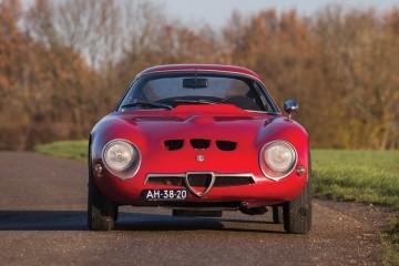 1965 Alfa Romeo GIULIA Tubolare ZAGATO Brings Racing Patina to RM Sotheby's Paris 2016