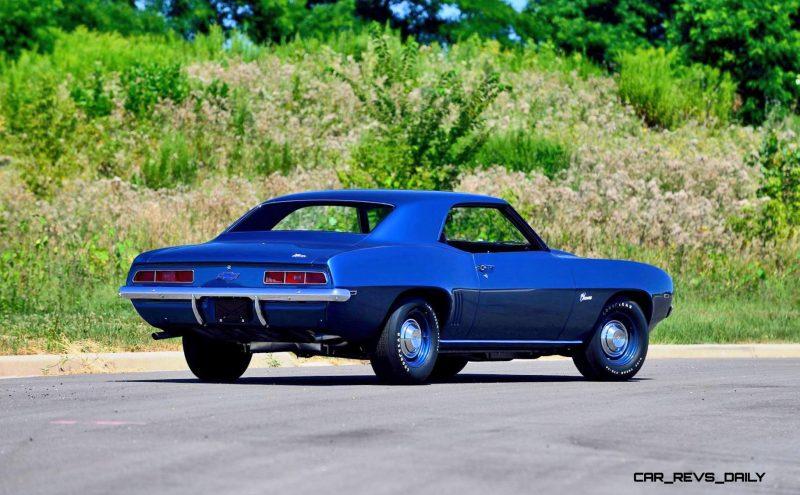 1969 Chevrolet Camaro ZL1 3