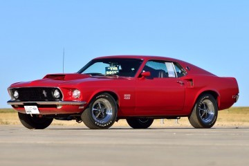 1969 Ford Mustang Boss 429 Fastback in Candyapple Red 1