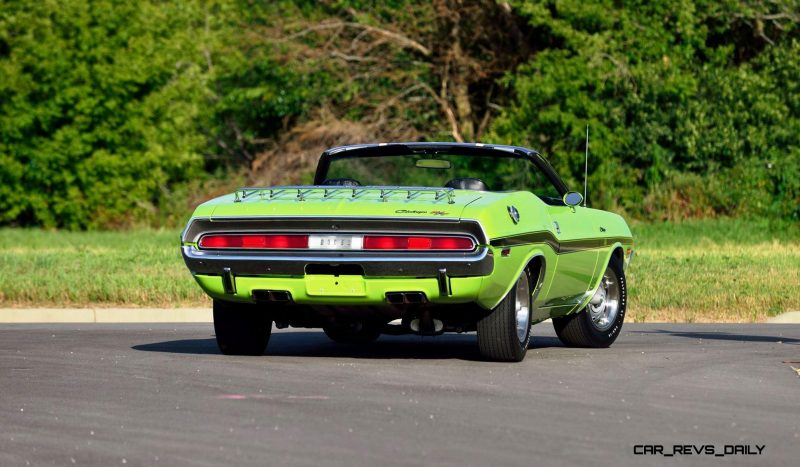 1970 Dodge Hemi Challenger RT Convertible 3