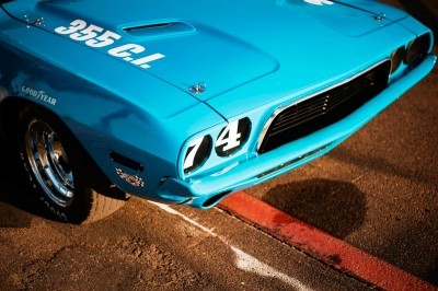 1973 Dodge Challenger Race Car - Ex-Dale Earnhardt - Saturday Night Special By PETTY 15