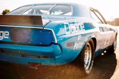 1973 Dodge Challenger Race Car - Ex-Dale Earnhardt - Saturday Night Special By PETTY 17