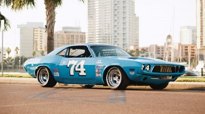 1973 Dodge Challenger Race Car - Ex-Dale Earnhardt - Saturday Night Special By PETTY 32