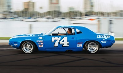 1973 Dodge Challenger Race Car - Ex-Dale Earnhardt - Saturday Night Special By PETTY  38