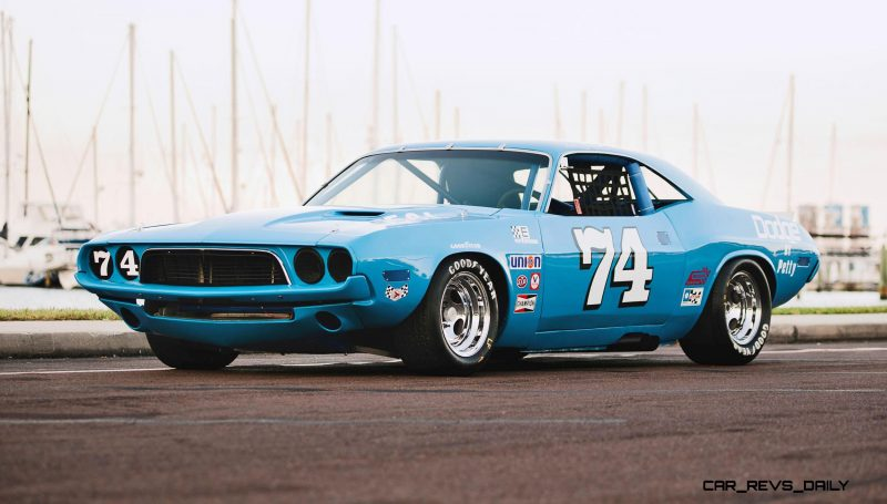 1973 Dodge Challenger Race Car - Ex-Dale Earnhardt - Saturday Night Special By PETTY  39