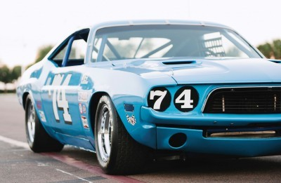 1973 Dodge Challenger Race Car - Ex-Dale Earnhardt - Saturday Night Special By PETTY 41