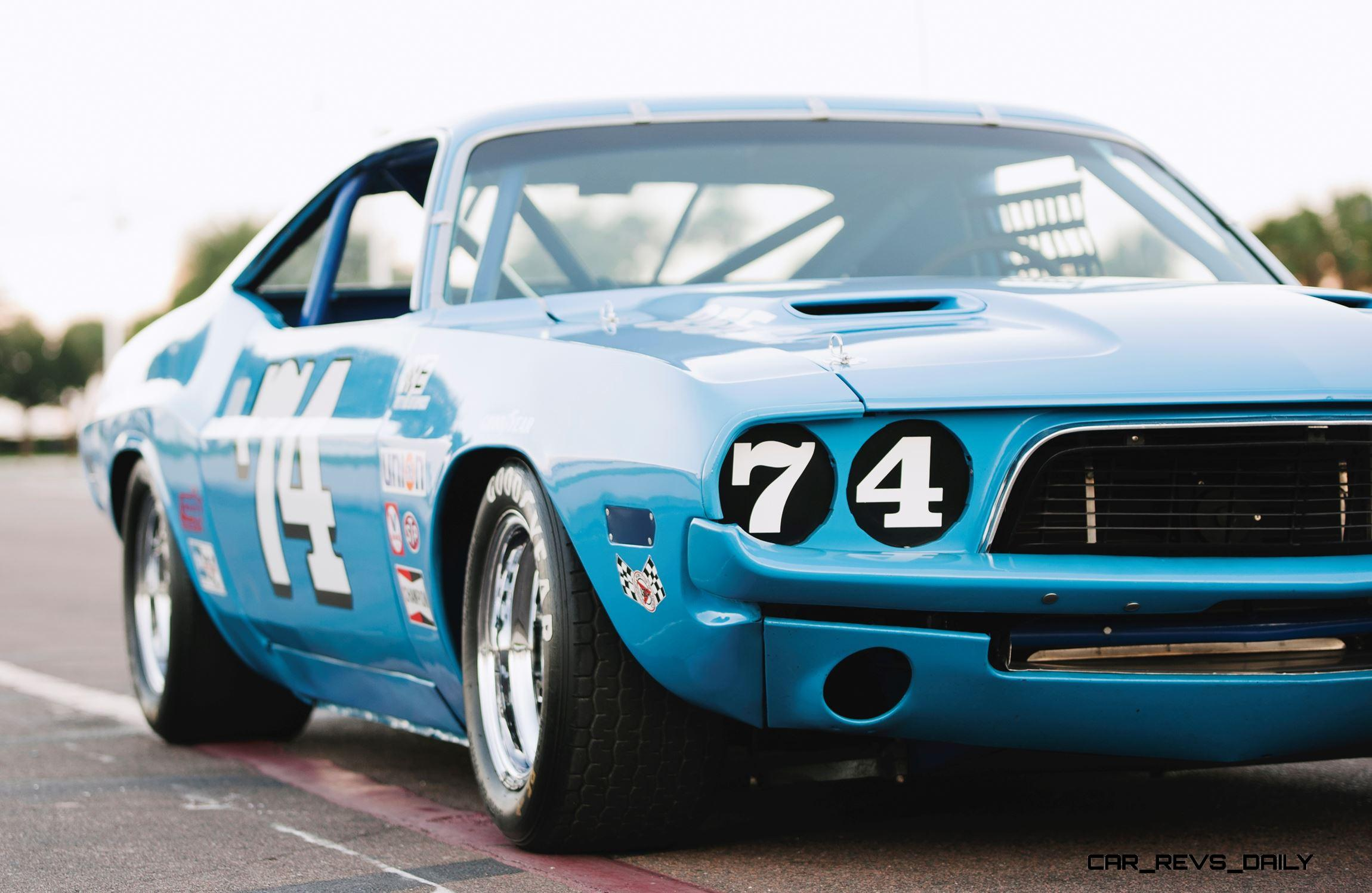 1973 Dodge Challenger Race Car Ex Dale Earnhardt
