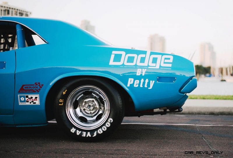 1973 Dodge Challenger Race Car - Ex-Dale Earnhardt - Saturday Night Special By PETTY  43