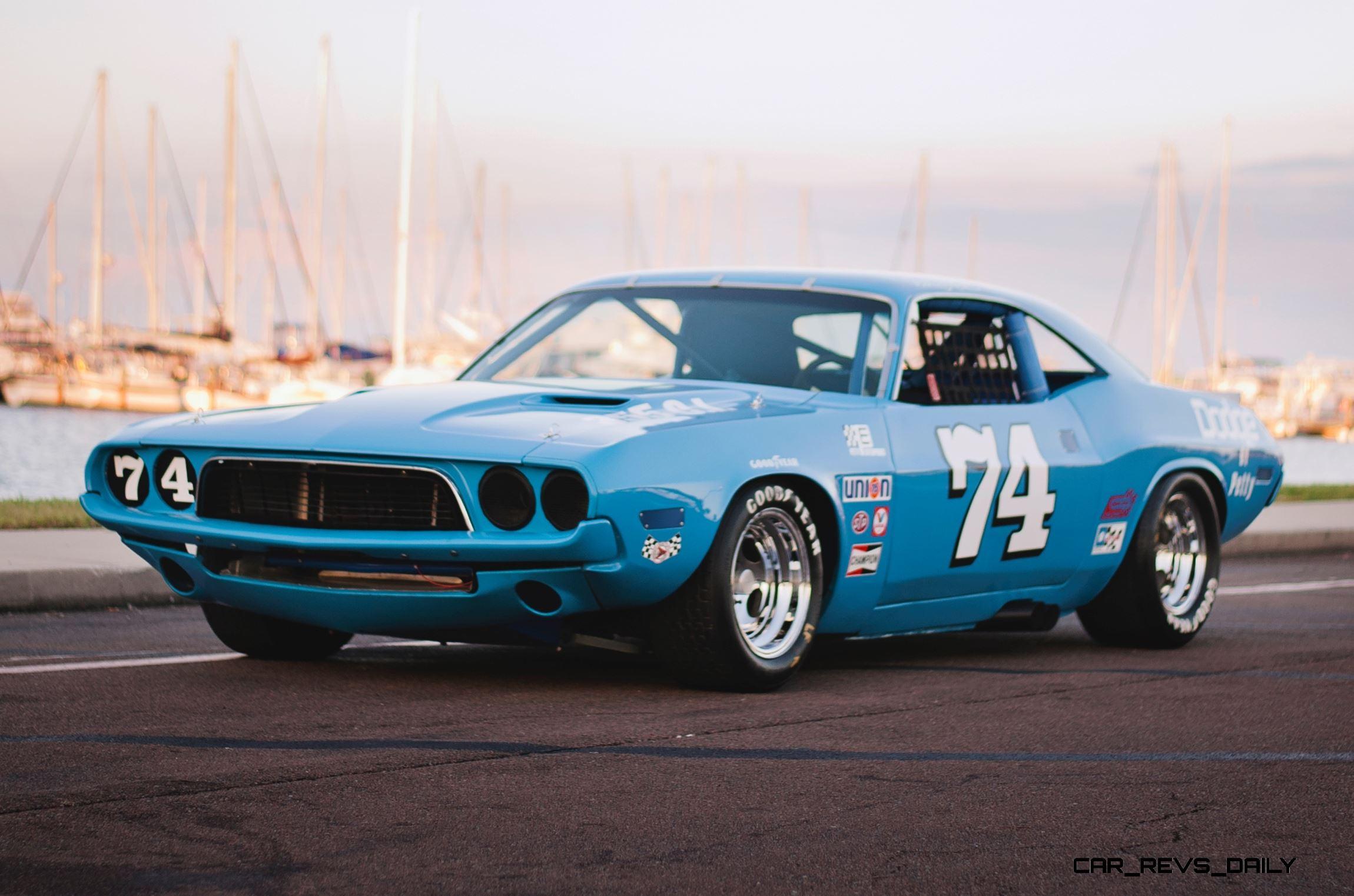 1973 Dodge Challenger Race Car - Ex-Dale Earnhardt - Saturday Night ...