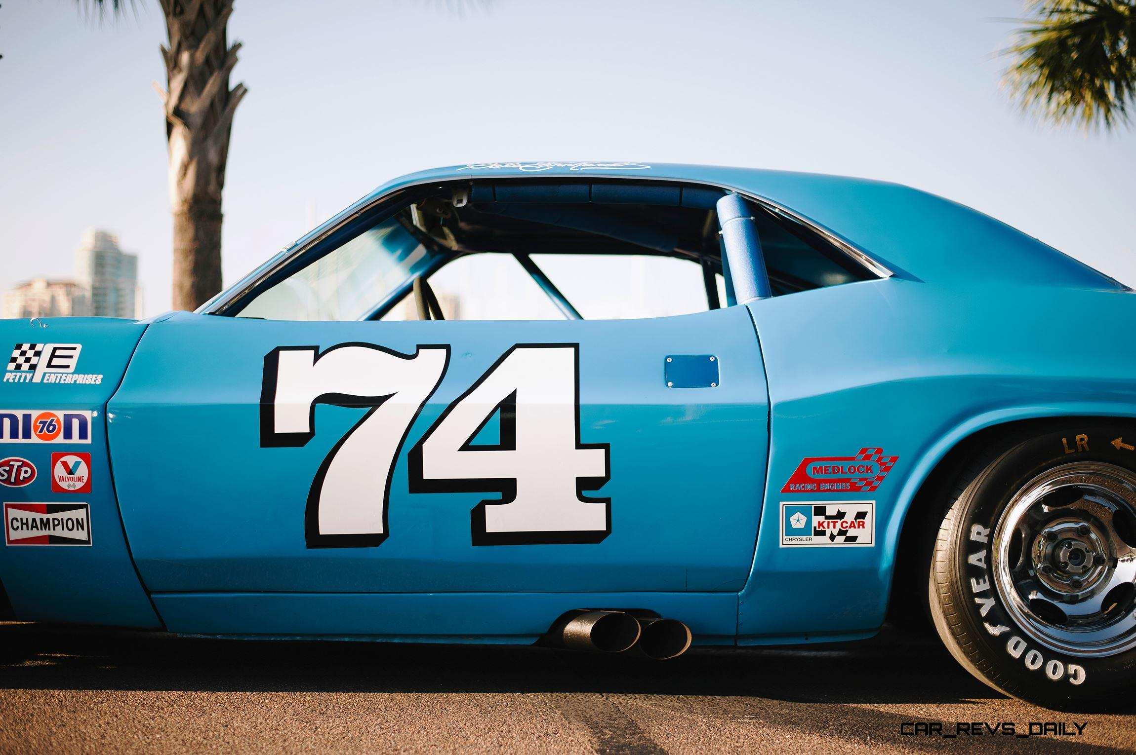1973 Dodge Challenger Race Car Ex Dale Earnhardt Saturday Night