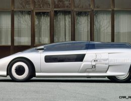 Concept Flashback – 1988 ITALDESIGN Aspid – Tinted Bubble Canopy