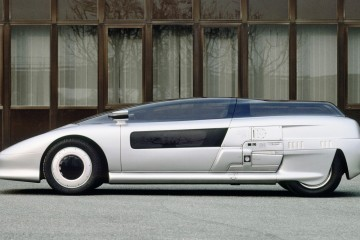 Concept Flashback - 1988 ITALDESIGN Aspid - Tinted Bubble Canopy