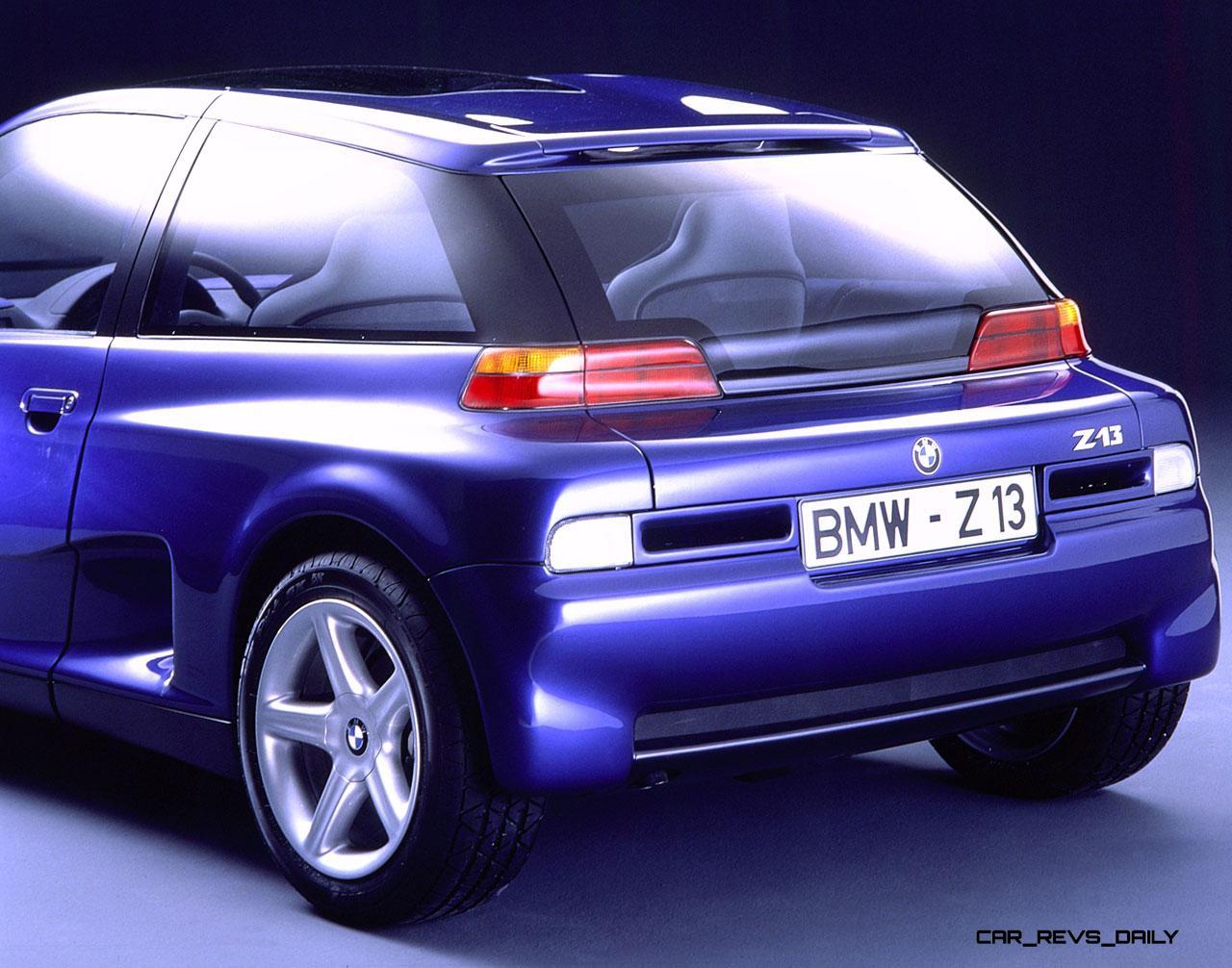 Concept Flashback 1995 Bmw Z21 Just 4 2