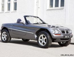 Concept Flashback – 1995 BMW Z18 is Fascinating Rally Roadster