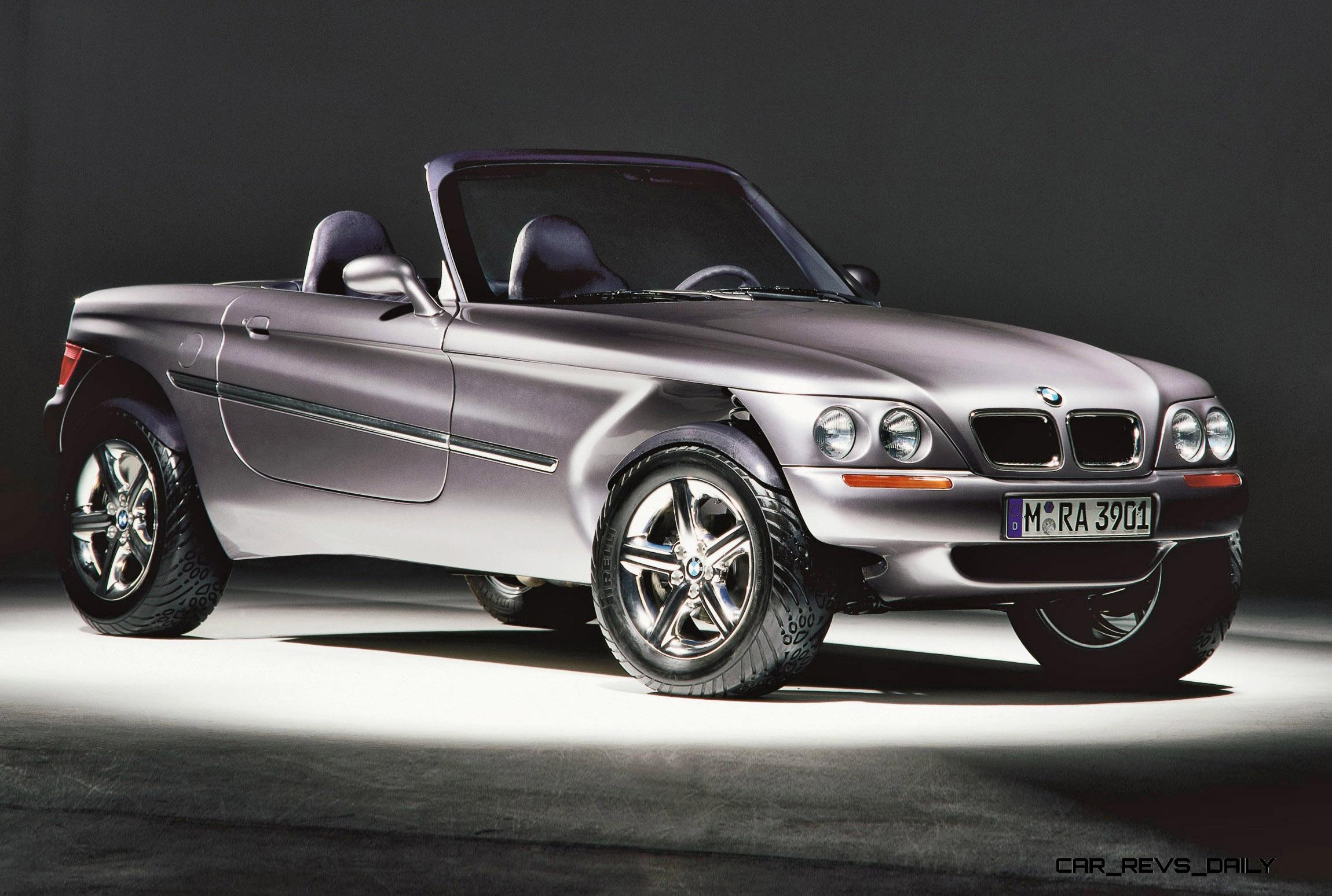 Concept Flashback - 1995 BMW Z18 is Fascinating Rally Roadster
